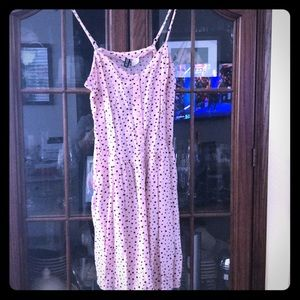 Spaghetti strap pink dress from H & M